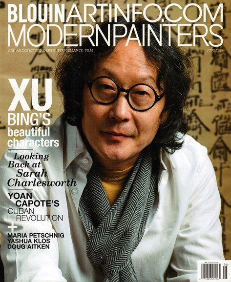 Blouin Modern Painters Cover - 6/1/2015