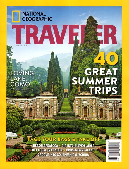 National Geographic Traveler Cover - 6/1/2015