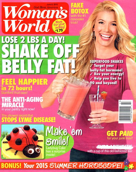 Woman's World Cover - 6/8/2015