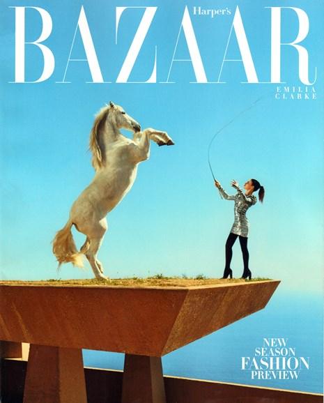 Harper's Bazaar Cover - 6/1/2015
