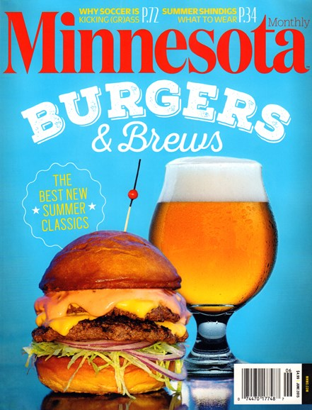 Minnesota Monthly Cover - 6/1/2015