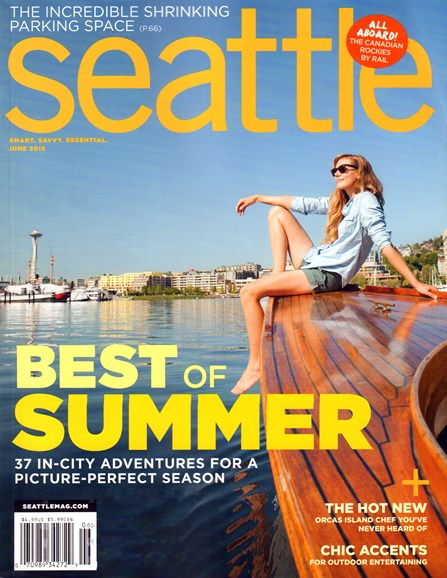 Seattle Magazine Cover - 6/1/2015