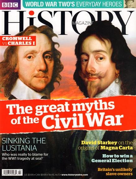 BBC History Cover - 5/1/2015