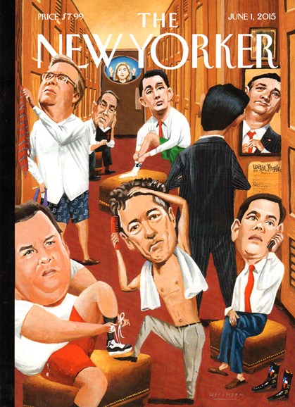 The New Yorker Cover - 6/1/2015