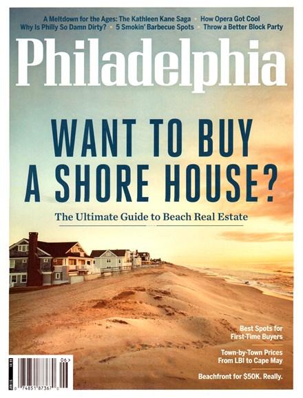 Philadelphia Magazine Cover - 6/1/2015