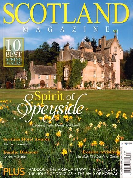 Scotland Magazine Cover - 6/1/2015