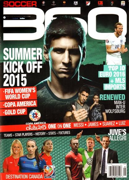 Soccer 360 Cover - 5/1/2015