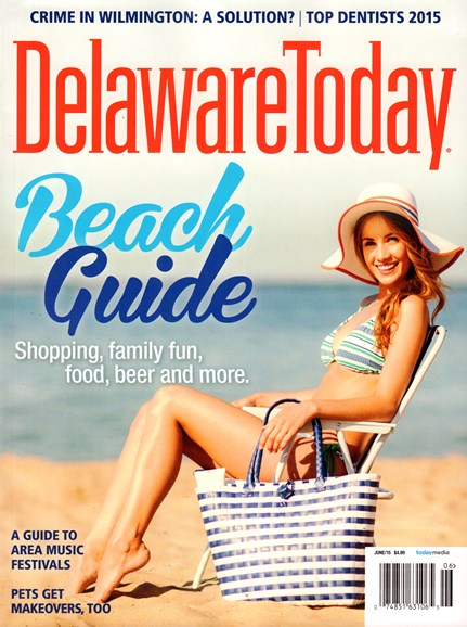 Delaware Today Cover - 6/1/2015
