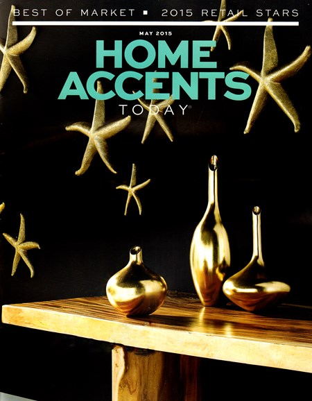 Home Accents Today Cover - 5/1/2015