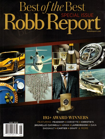 Robb Report Cover - 6/1/2015