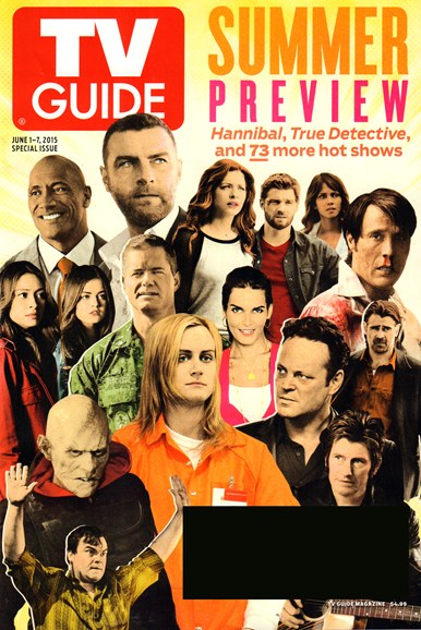 TV Guide Cover - 6/1/2015