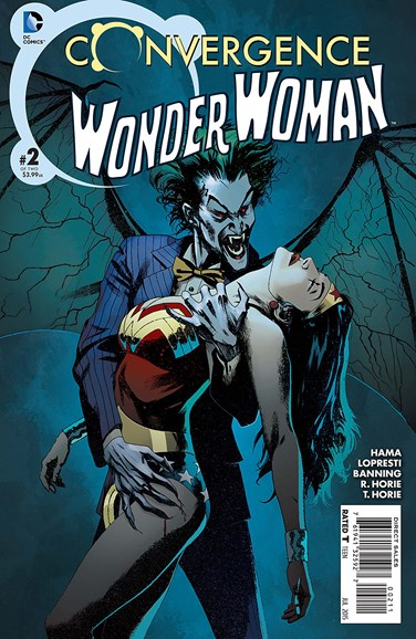 Wonder Woman Cover - 7/1/2015