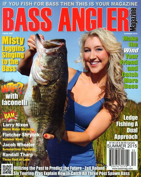 Bass Angler Cover - 6/1/2015
