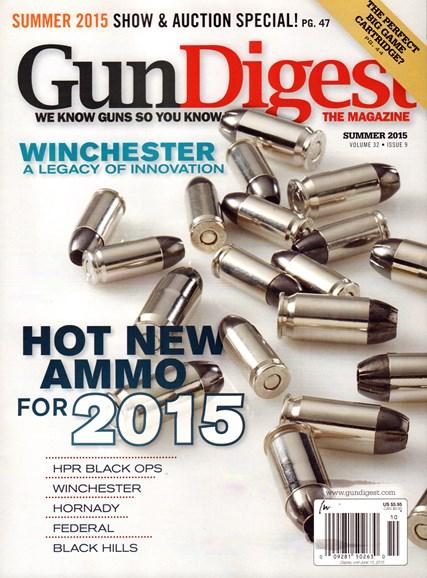 Gun Digest Cover - 6/1/2015