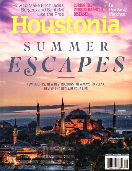 Houstonia Cover - 6/1/2015