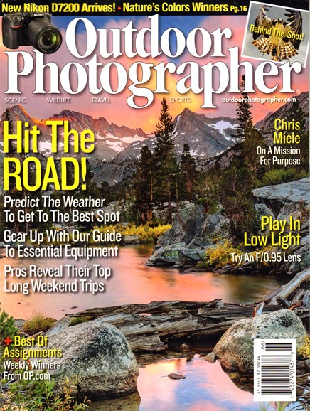 Outdoor Photographer Cover - 6/1/2015