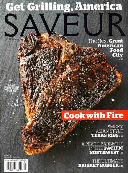 Saveur Cover - 6/1/2015