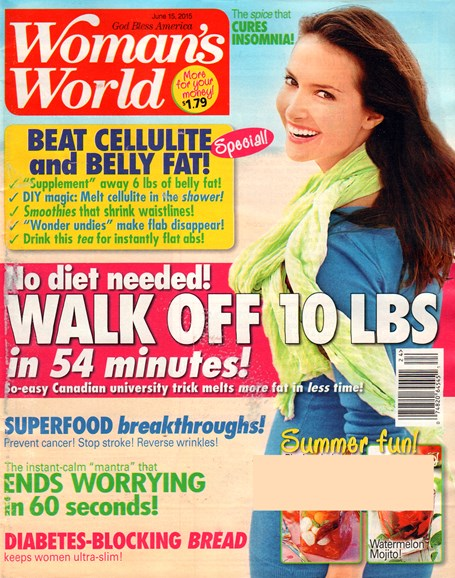 Woman's World Cover - 6/15/2015