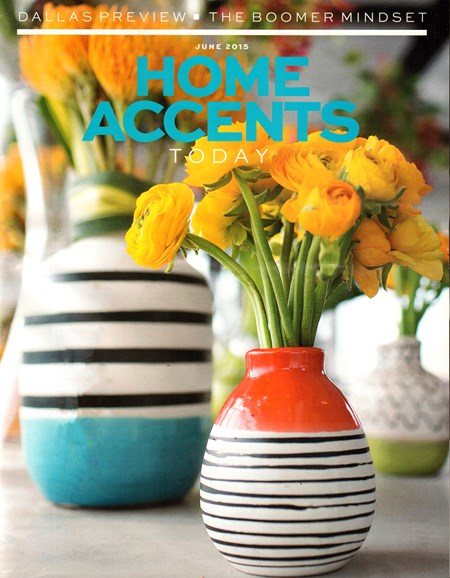 Home Accents Today Cover - 6/1/2015