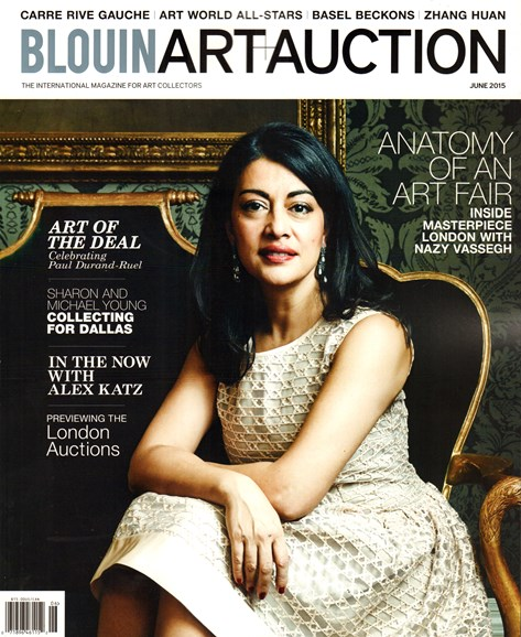 Blouin Art & Auction Cover - 6/1/2015