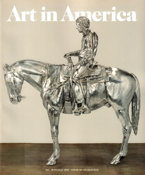 Art In America Cover - 6/1/2015