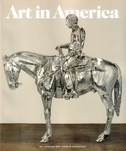 Art In America Cover - 6/1/2015