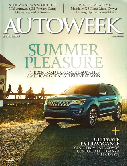 Autoweek Cover - 6/22/2015