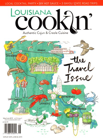 Louisiana Cookin' Cover - 5/1/2015