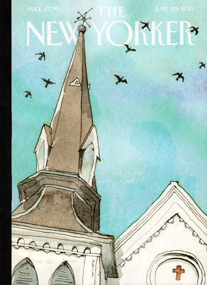 The New Yorker Cover - 6/29/2015