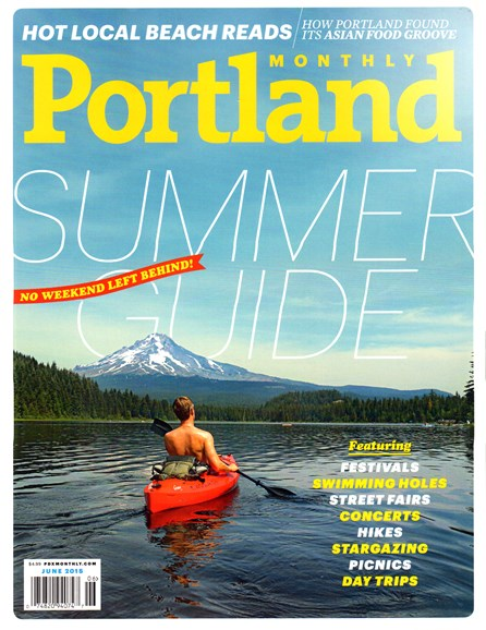 Portland Monthly Cover - 6/1/2015