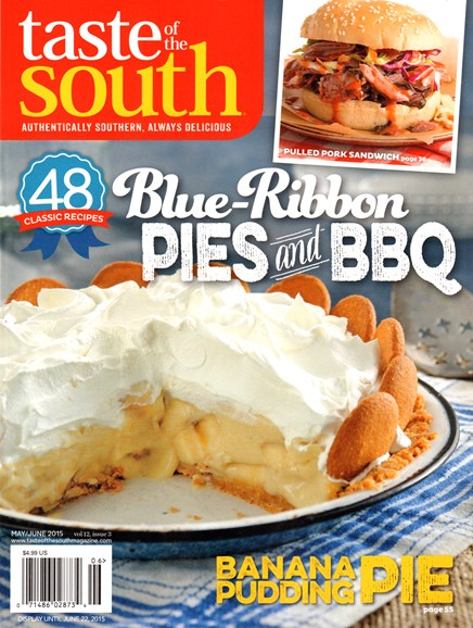Taste of the South Cover - 5/1/2015