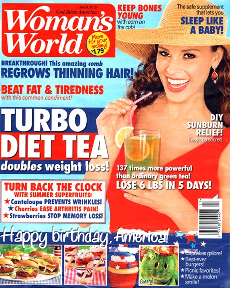 Woman's World Cover - 6/6/2015