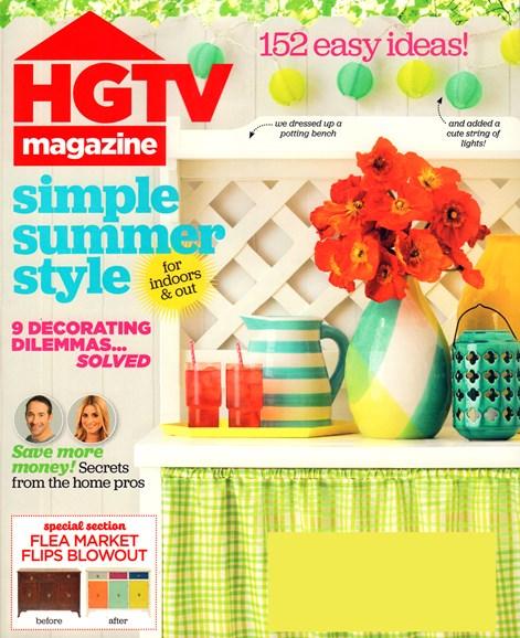 HGTV Cover - 6/1/2015