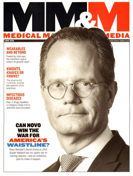 Medical Marketing & Media Cover - 6/1/2015
