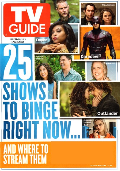 TV Guide Cover - 6/22/2015