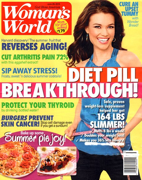 Woman's World Cover - 6/29/2015