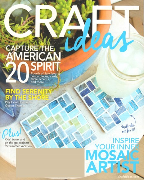Craft Ideas Cover - 6/1/2015