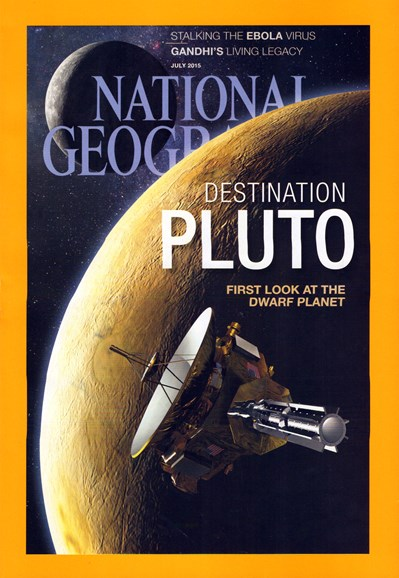 National Geographic Cover - 7/1/2015