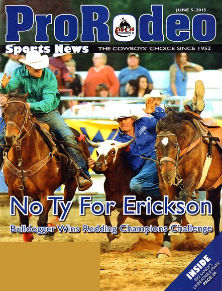 Pro Rodeo Sports News Cover - 6/5/2015