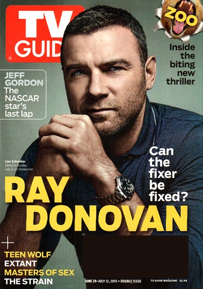TV Guide Cover - 6/29/2015
