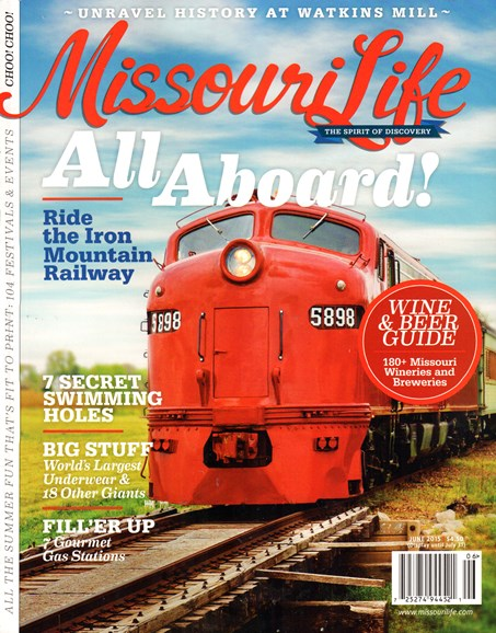 Missouri Life Cover - 6/1/2015
