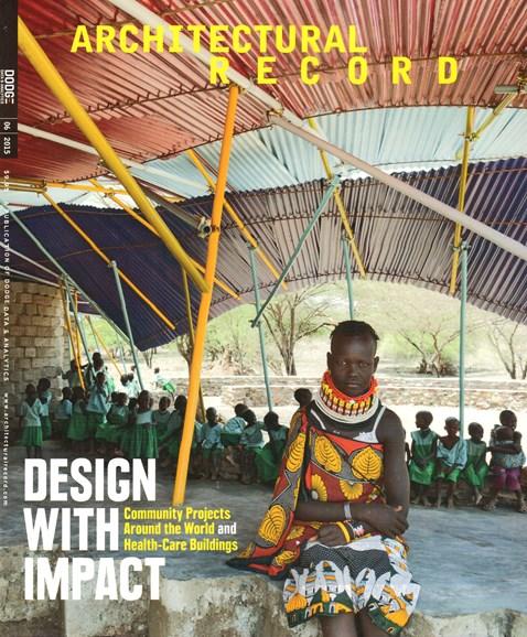 Architectural Record Cover - 6/1/2015