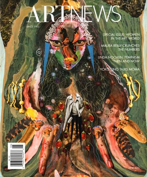 ARTnews Cover - 6/1/2015