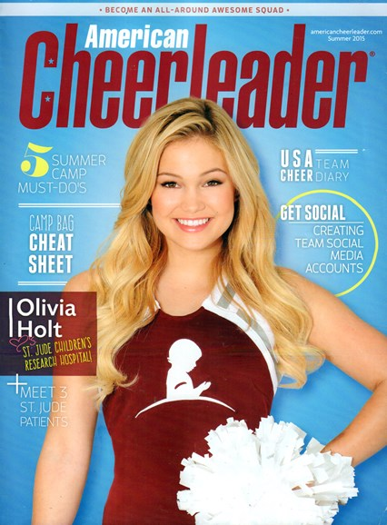 American Cheerleader Cover - 6/1/2015