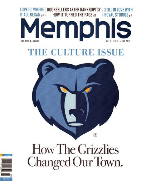 Memphis Cover - 6/1/2015