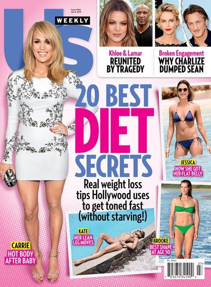 Us Weekly Cover - 7/6/2015