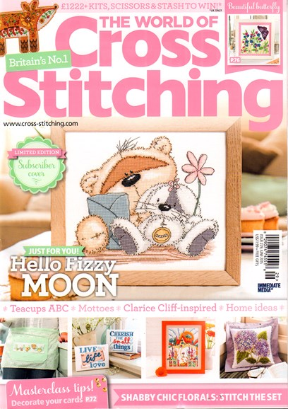 The World of Cross Stitching Cover - 6/1/2015