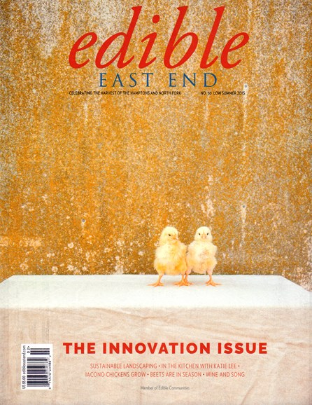 Edible East End Cover - 6/1/2015