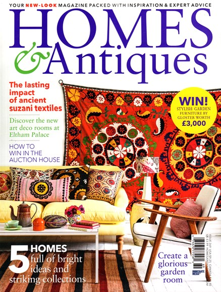 Homes & Antiques Cover - 6/1/2015