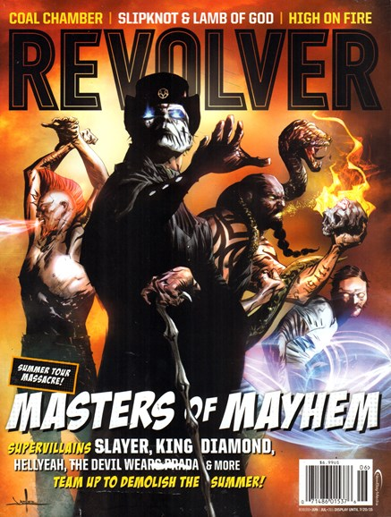 Revolver Cover - 6/1/2015